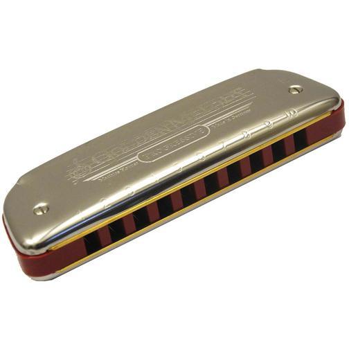 Губная гармоника блюзовая Hohner Golden Melody E 36980669