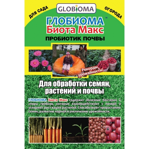 Глобиома Биота Макс : 1 таблетка 36986019