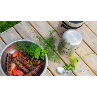 Термос Арктика для еды 1 литр, с чехлом и складной ложкой 301-1000A Термосы Арктика