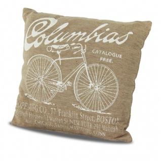Подушка декоративная Columbias бежевая
