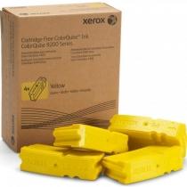 Твердые чернила Xerox 108R00839 для Xerox ColorQube 9201, 9202, 9203, 9301, 9302, 9303, оригинальные (желтые, 4 шт, 37000 стр) 7989-01