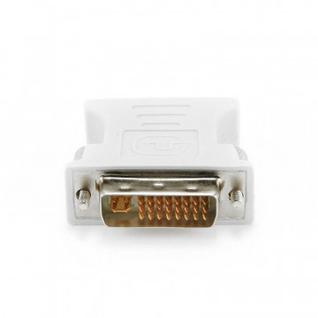 Переходник DVI - VGA, 29M/15F, Cablexpert, белый, A-DVI-VGA