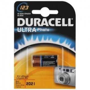 Батарейки DURACELL ULTRA CR123 литий для фотоапп. бл/1шт