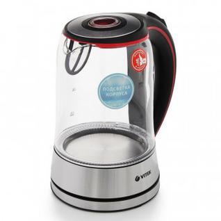 Чайник Vitek VT-7005, 2200 Вт, 1,7 л, нержавеющ. сталь
