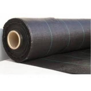 Геотекстиль-мульча 130г/м2, ширина 3м*100м.п., рулон