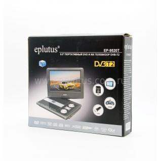 Портативный DVD плеер c цифровым тюнером DVB-T2 Eplutus EP-9520T Eplutus