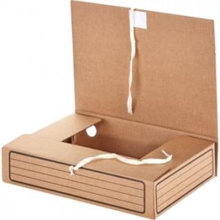 Короб архивный с завязками Attache Economy 75мм,5шт.уп.