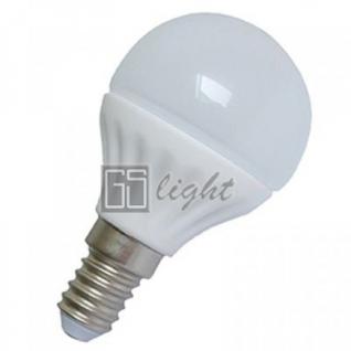 GSlight Светодиодная лампа AP E-14 Шар 4W Day White