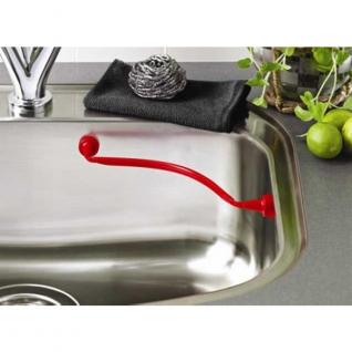 Магнитные крючки, держатели в раковину. Reenberg's Магнитный гибкий держатель для салфеток и губок в раковину NW-MAG-R-RED-99907
