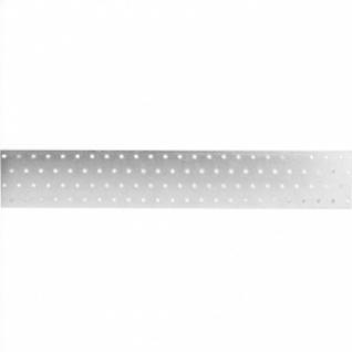 Кронштейн крепежная пластина 80х480х2мм оцинкованная
