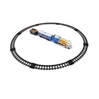 """Железная дорога """"Мой первый поезд"""" (свет, звук, движение, дым), 11 элементов Play Smart"""