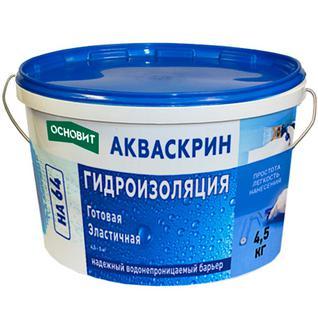 ОСНОВИТ HA-64 гидроизоляция готовая (4,5кг) / ОСНОВИТ HA64 гидроизоляция эластичная готовая (4,5кг) Основит