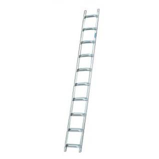 Лестница для крыши из алюминия, 14 перекладин