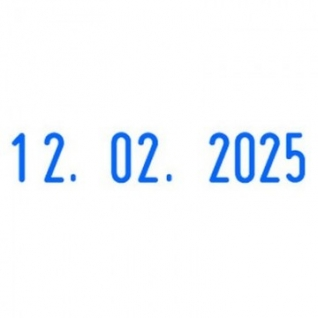 Датер автоматический пласт. S220Bank шрифт 4мм месяц цифр.(аналог 4820B)Col