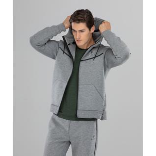Мужская спортивная толстовка Fifty Balance Fa-mj-0103, серый размер L