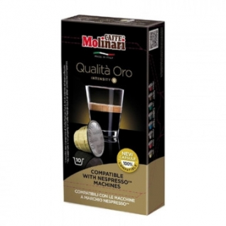 Кофе в капсулах Molinari ORO, 10 капсул