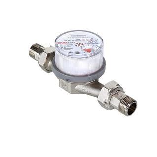 """Счетчик воды универсальный до +90 с, 1/2"""" 110 mm VALTEC"""