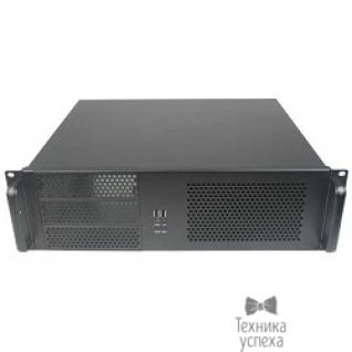 "EXEGATE Exegate EX264270RUS Серверный корпус Exegate Pro 3U390-08 <RM 19"", высота 3U, глубина 390, без БП, USB>"