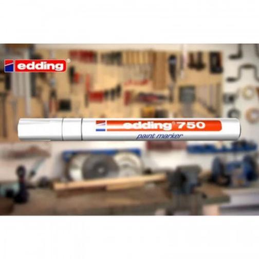 Маркер пеинт (лак) EDDING E-750/1 черный 2-4мм рус/бл. 37873484