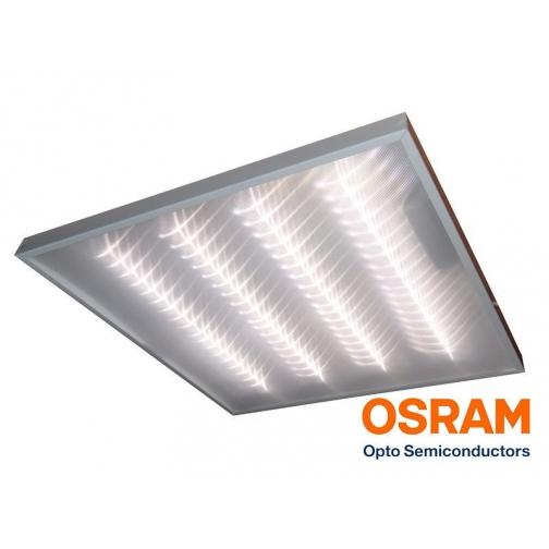 Светодиодный светильник 595х595х40 мм для офисных помещений 30Ватт 760