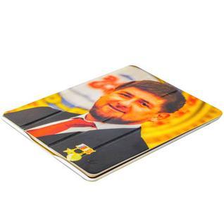 Чехол-книжка кожаный Jisoncase Executive Print для iPad 4/ 3/ 2 JS-IPD-06 с рисунком (тренд) Рамзан Кадыров тип 003