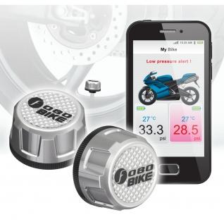 Система контроля давления и температуры в шинах Fobo Bike (для мотоцикла)