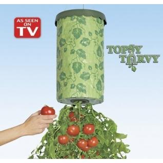 Приспособление для выращивания овощей сверху вниз