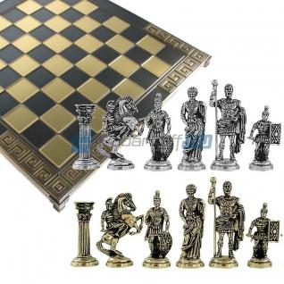 "Шахматы с тематическими фигурами ""Древний мир"", средние"