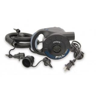 Электрический насос Quick Fill 160 c 3 насадками Intex