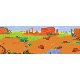 Книга с многоразовыми наклейками Удивительная Австралия, МС11117