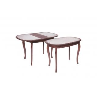 Стол обеденный 1000x700 с камнем
