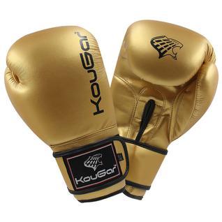 Перчатки боксерские Kougar Ko600-14, 14oz, золото