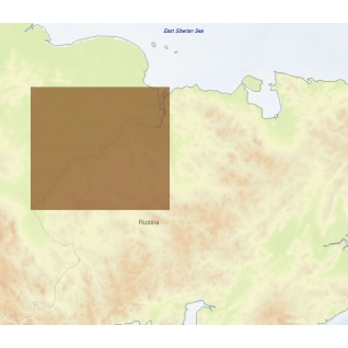 Карта C-MAP RS-N518 - Колыма низовье C-MAP