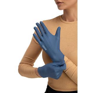 Многоразовые защитные перчатки взрослые Mujjo Blue M/L Routemark