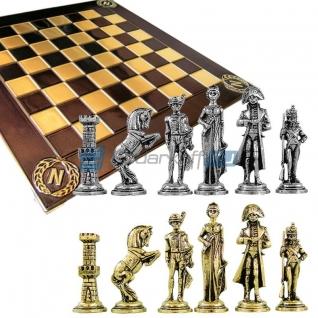 """Шахматы с тематическими фигурами """"Наполеон Бонапарт"""""""