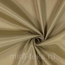 Подкладочная ткань 344 190Т 100%п/э, шир. 150 см, цвет: золотистый бежевый