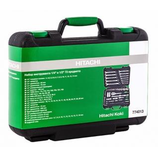 Набор инструмента Hitachi 1/4'' и 1/2'' 73 предмета 774013