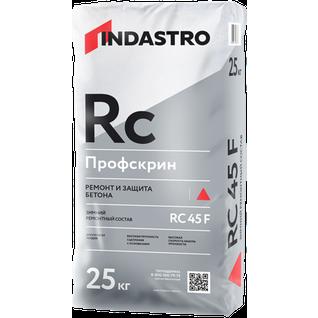 ИНДАСТРО RC45F Профскрин зимняя смесь для ремонта и защиты бетона (25кг) / INDASTRO RC-45F Профскрин зимний ремонтный состав для бетона (25кг) Индастро