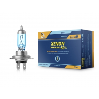 Лампа ксеноновая Clearlight Xenon Premium+80% H7 PCL 00H 700-2XP ClearLight