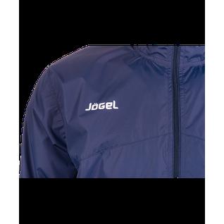 Куртка ветрозащитная детская Jögel Jsj-2601-091, полиэстер, темно-синий/белый размер YM