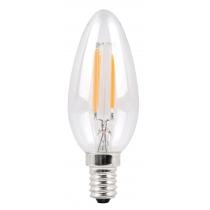 Филаментная лампа Sparkled Filament C37 E14 6W 200-240V 2700K