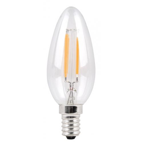 Филаментная лампа Sparkled Filament C37 E14 6W 200-240V 6500K 7189444