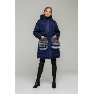 Пальто ODRI MIO 18310110 Пальто ODRI MIO MONACO BLUE (синий)