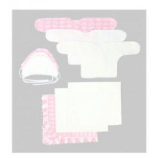 """Комплект на выписку """"Зайка моя"""" (9 предметов) цвет: розовый, арт. 14000209 Зайка моя"""
