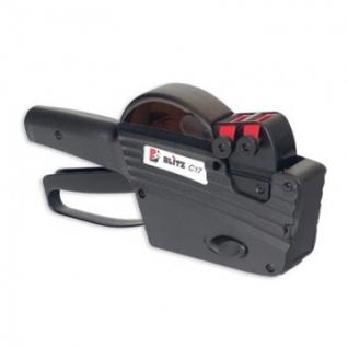 Этикет-пистолет 2стр BLITZ C17 10х7р 26х16 циф.Италия