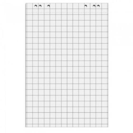 Блок бумаги для флипчартов клетка 67,5х98 50 лист. 5 бл/уп 80гр. 37850310