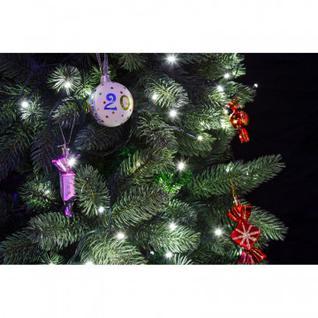 Гирлянда Твинкл Лайт 4 м, темно-зеленый ПВХ, 25 LED, цвет белый 303-015