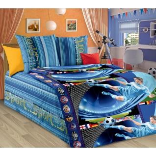 Комплект детского постельного белья 1,5-спальный Пенальти, бязь