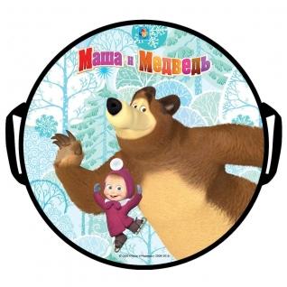 """Ледянка """"Маша и Медведь"""", круглая, 52 см 1 TOY"""