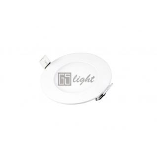 GSlight Светодиодная панель SLIM-ROUND-6W Warm